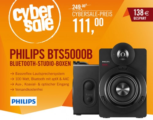Philips Boxen Cybersale Sept14
