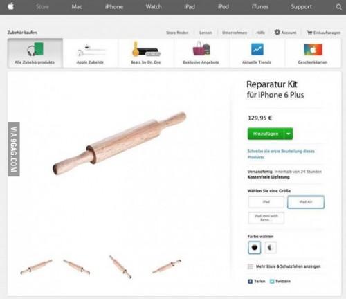 Scherz Bild iPhone 6 Reparieren