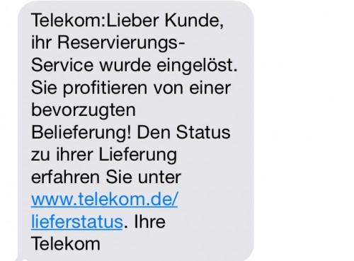 Telekom iPhone 6 Lieferung2