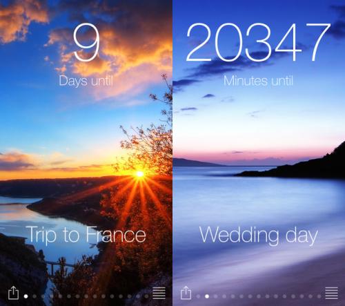 Widget Countdown Screen1