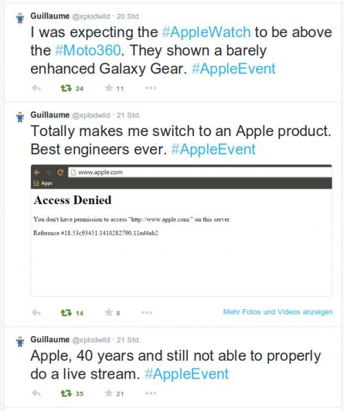 Xplodwild Reaktion iPhone