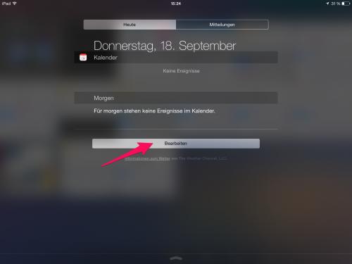 iOS 8 Widgets i mal 1 2
