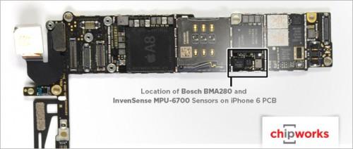iPhone 6 2 Accelerometer