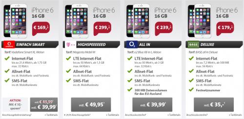 iPhone 6 Deal Sparhandy Sept14