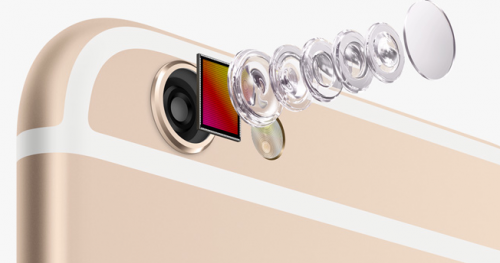 iPhone 6 Kamera Linse Ansicht