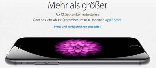iPhone 6 Plus Order