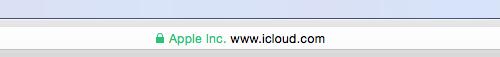 Apple Zertifikat icloud.com