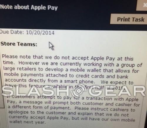 CVS Apple Pay Deaktiviert