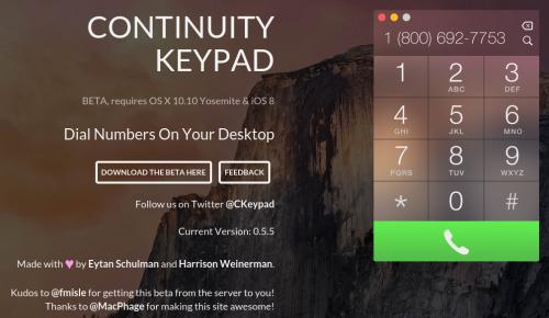 Continuity Keypad Bild