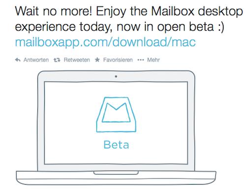 Mailbox fuer Mac
