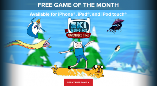 Ski Safari Adventure Time IGN Deal