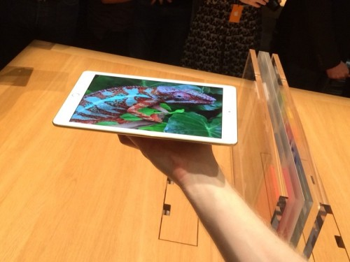 iPad Air 2 Handson Bild