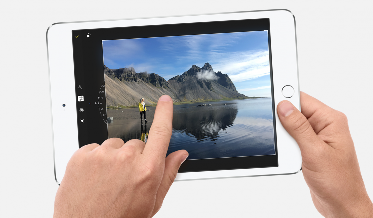 iPad mini 4 Szene