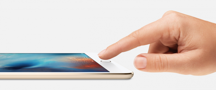 iPad mini 4 TouchID