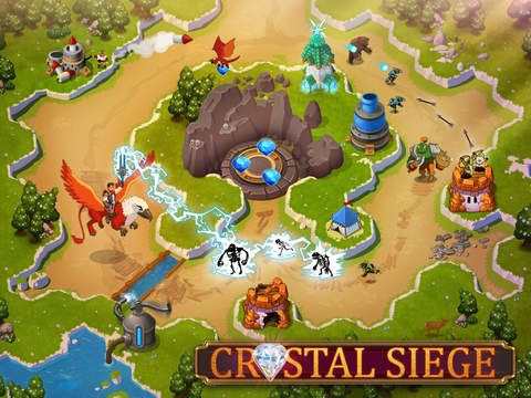 Crystal Siege HD Screen1