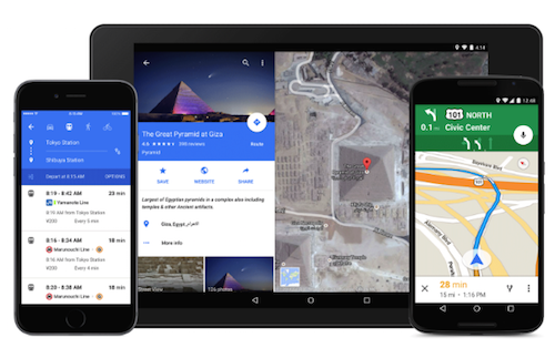 Google Maps neu 1