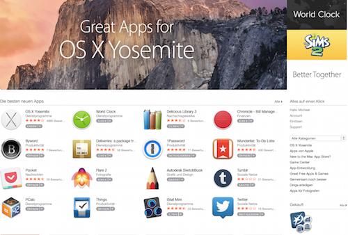 Mac App Store neu