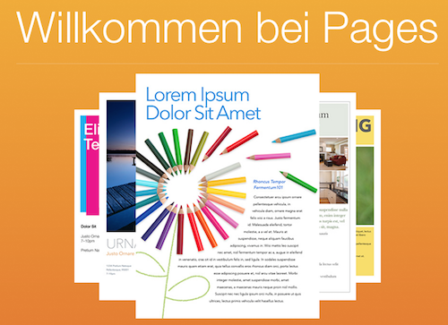 Pages Desktop deutsch