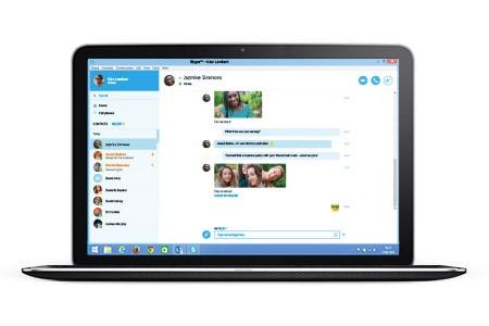 Skype Web Bild1