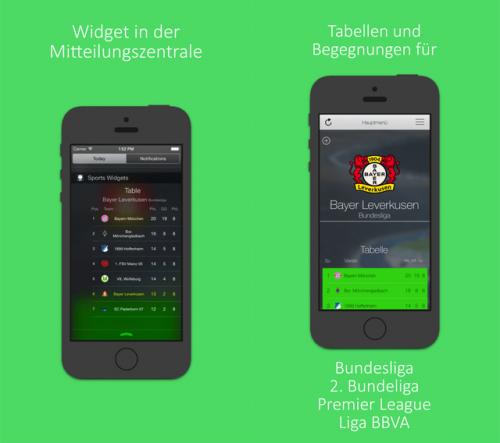 Sport Widgets Screen1