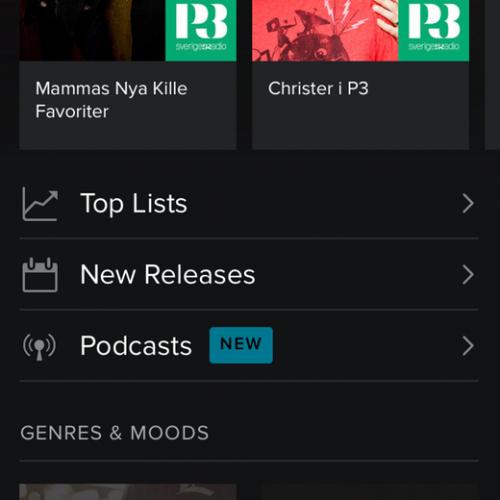 Spotify Podcsats