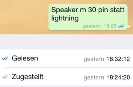 WhatsApp Gelesen Tipp1