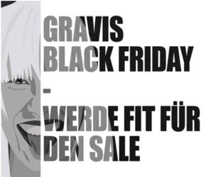Werde fit für den Sale! Black Friday bei GRAVIS