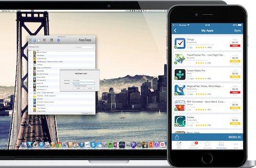 AppZapp Sync Tool Bild