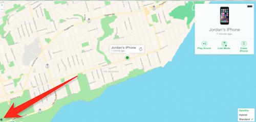 Apple Maps iCloud