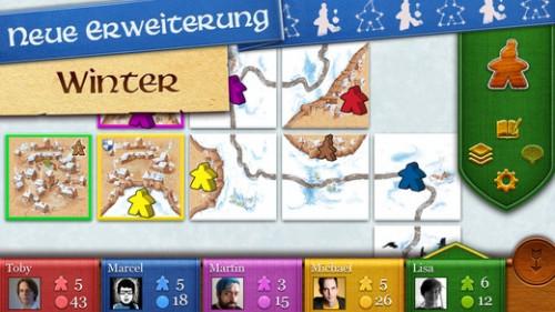 Carcassonne Weihnachten Update
