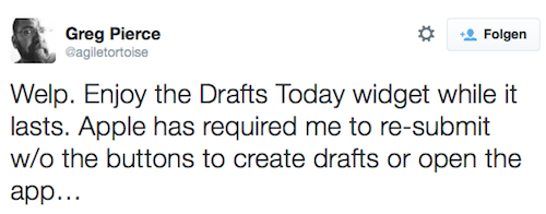 Drafts 4 Tweet