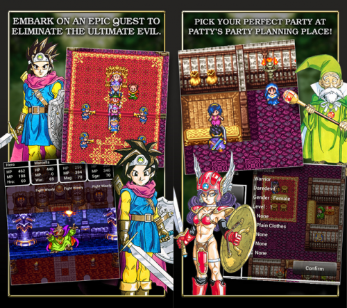 Dragon Quest III Screen1