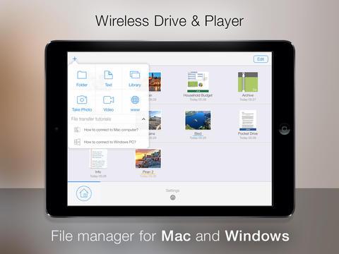 Pocket Drive Screen1