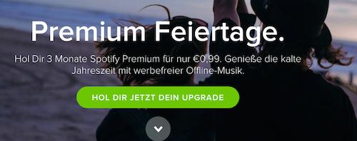 Spotify Feiertage