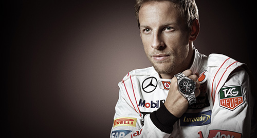 Jenson Button TAG Heuer