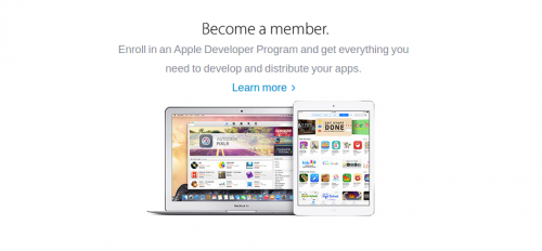 Apple Developer Entwickler Bild