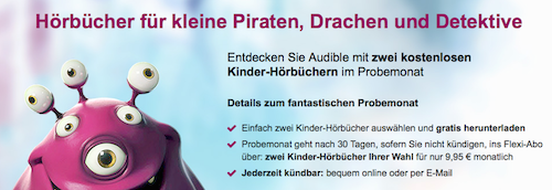 Audible Kinder Horbuecher