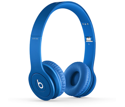 Beats Solo HD mattblau