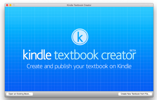 Kindle Textbook Creator Bild