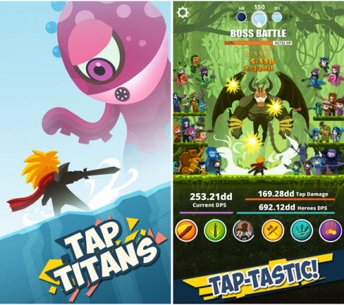 Tap Titans Screen1