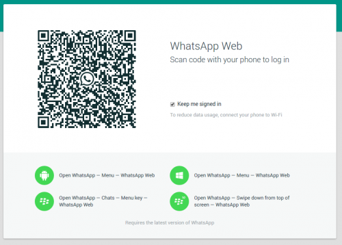 WhatsApp Web Start