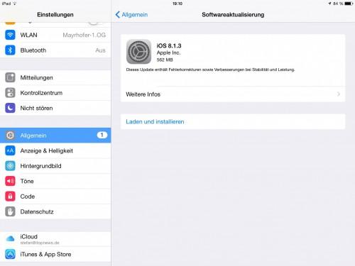 iOS 8_1_3 Bild 2
