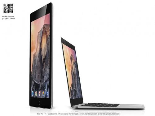 iPad Pro MacBook Air Hajek1