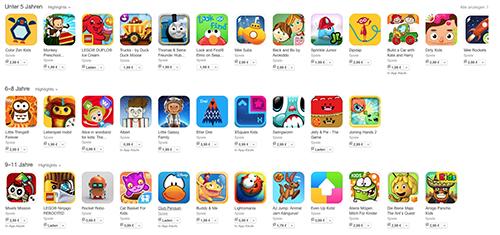 App Store Kids