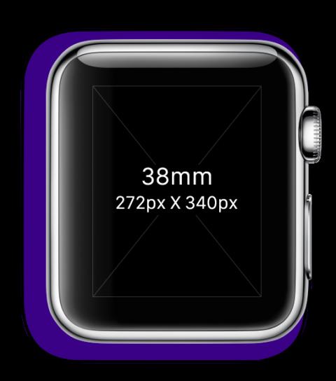 Größen Apple Watch