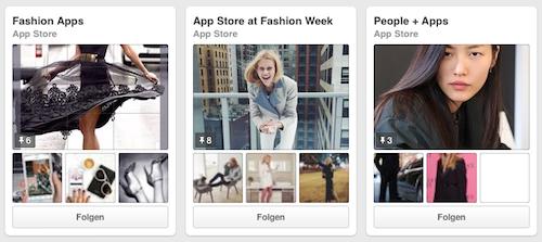 App Store auf Pinterest