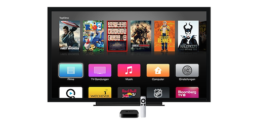 Apple TV Ansicht