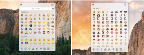 Emoji Picker OS X 10.10.3