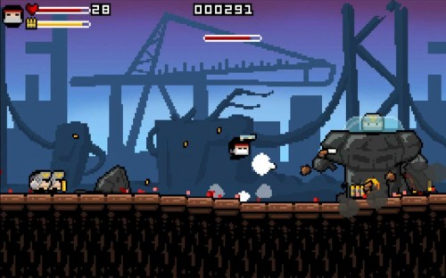Gunslugs 2 Brutal Screen
