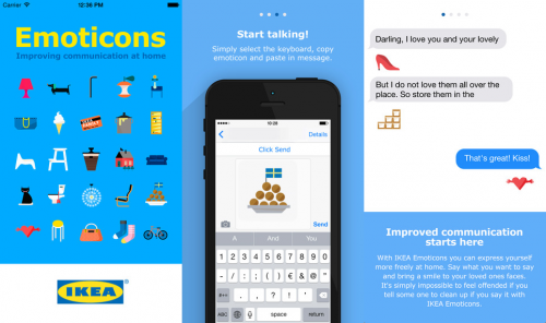 Ikea Emoticons Screen